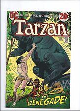 1973 DC Comics Tarzan #216 VF+  Joe Kubert Art Howard Chayin backup