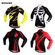 Mens Cycling Jersey MTB Road Bike Clothing Tops Shirt Jersey Sportswear Gifts