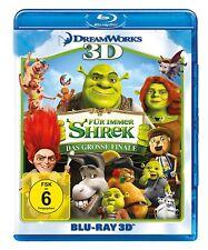 3D Blu-ray * SHREK 4 - FÜR IMMER SHREK DAS GROSSE FINALE + BLU-RAY # NEU OVP +