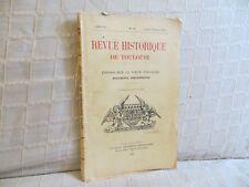 Revue historique de Toulouse études sur le vieux Toulouse 1935  n° 70 Languedoc