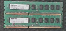 Lot de 2 barrettes ELPEDA 4Go (8Go au total) PC3L-12800-11--10-E3