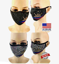 Rhinestones Filipino Bling Mask Sparkly Crystal  Diamond Free Filter Philippines