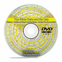Slide Rule Machinist, How To Use, Mathematics Workshop Drawings Books CD DVD V71