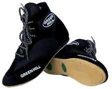 Greenhill boxing shoes Professional suede leather boot light weight mesh unisex
