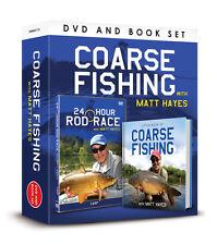 24 HOUR ROD RACE MATT HAYES - CARP DVD & BOOK OF COARSE FISHING GIFT SET