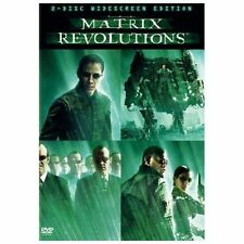 The Matrix Revolutions (Dvd, 2004, 2-Disc Set Widescreen) New