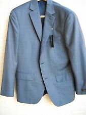 Men's Suit By Tasso Elba -Color: BLU STEPWEAVE   NEW