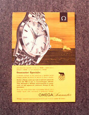 N054- Advertising Pubblicità - 1960 - OMEGA SEAMASTER SPECIALE