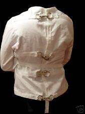 --Gr8 Halloween costume White Straight Jacket XL