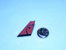 NORTHWEST AIRLINES AIRPLANE TAIL TACK PIN NEW COLLECTIBLE NWA DELTA PILOT F/A !
