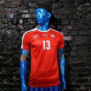 Rodriguez Switzerland Home football shirt 2016 - 2018 Puma Trikot Mens Size M