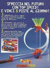 X0805 Top Speed Hot Wheels - Mattel - Pubblicità del 1995 - Vintage advertising