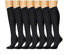 7 Pairs Unisex Compression Socks L/XL