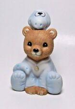 Vintage Homco Porcelain Bear Figurine - #1438 - Halloween Dinosaur Costume Bear