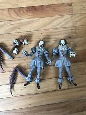"""New 7"""" NECA IT Ultimate Pennywise Clown Action Figure Movie Doll 2017 Lot"""