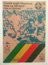 1981 GAA All-Ireland Football S-Final MAYO v KERRY Programme