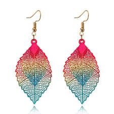 Luxury Boho Bohemian Leaf Hollow Out Earrings For Women Dangle Earrings FH8395
