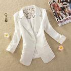 Fashion Women's One Button Slim Casual Business Blazer Suit Jacket Coat Outwear