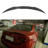 Spoiler Für Alfa Romeo Giulia 15-17 CARBON Heckspoiler Abrisskante Lippe Flügel