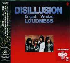 DISILLUSION ENGLISH VERSION *** 2016 JAPAN RMST CD *** LOUDNESS - AKIRA TAKASAKI
