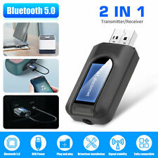 Wireless Bluetooth Transmitter&Receiver AUX Adapter for Speaker PC TV Laptop Car