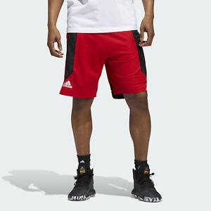 adidas men basketball shorts creator 365 scarlet ED8389 08 msrp $40