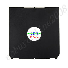 "Copal #00 Or #2 Lens board For Linhof Wista Shen Hao 4x5"" Large Format Camera"