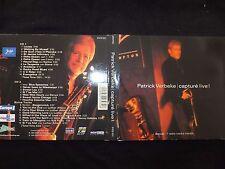 2 CD PATRICK VERBEKE / CAPTURE LIVE /