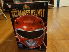 Power Rangers Mighty Morphin Legacy Ranger Helmet, Red 1:1 Scale