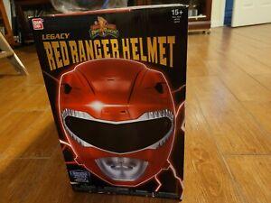 Power Rangers Mighty Morphin Legacy Ranger Helmet, Red 1:1 Scale