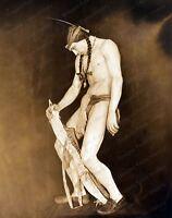 8x10 Print Rudolph Valentino by Russell Ball 1925 #RV1