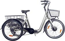 Klappbares Elektro Dreirad für Erwachsene Monty E134 Transportrad E-Bike Faltbar