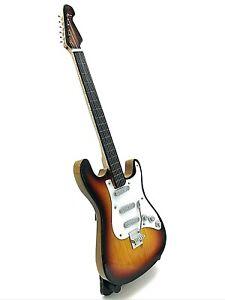 Miniature Fender Standard  Stratocaster Guitar - Sunbrushed (ornamental)