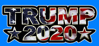 Donald Trump For President 2020 Bumper Sticker Decal 2020 Presidential Election