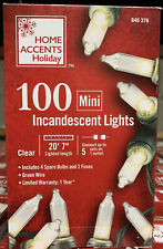 Mini Lights Clear White 100 Incandescent For All occasions