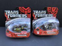Transformers 2007 Movie Hardtop & Signal Flare, Deception, Megatron, Starscream