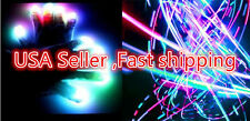 6 Modes Led light rave flashing finger lighting glow,cool dance electro gloves