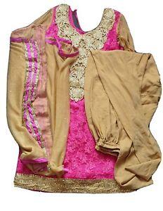 Indian punjabi salwar kameez suit stitched panjabi dress