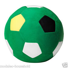 IKEA SPARKA Soft toy kids play ,Green  Football  20cm, ages from 0 year UK-ZH