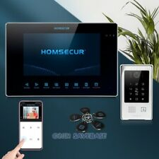 """HOMSECUR 7"""" WIFI Video&Audio Home Intercom Password Access for Home Security"""
