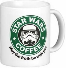 May The Froth Be With You 11 oz Coffe Mug/Cup Stormtrooper