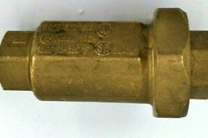 "Unbranded R623 1/2"" Dual Check Valve Water Back Flow Preventer"