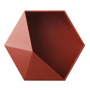 Corner/Hexagon Floating Shelves Storage Holder Self Stick Small Storage Box