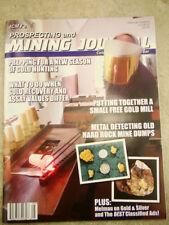 ICMJ's Prospecting & Mining Journal Magazine  2018,  GOLD!! NEEDS UPC