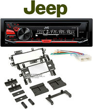 Jvc Cd Player Usb Car In-Dash Receiver Stereo For 1987-1995 Jeep Wrangler Yj