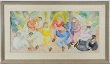 Alex Stewart - 1991 Watercolour, Party
