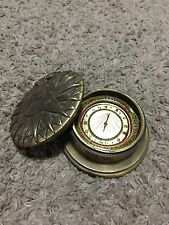 Brass Compass Antique Look Compass Decorative Collectible Paper Weight