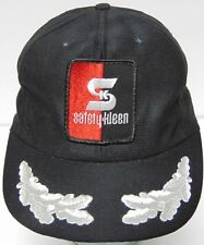 Vintage 1980s SAFETY KLEEN PARTS ADVERTISING SNAPBACK PATCH HAT CAP MADE IN USA