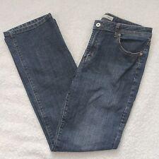 Chicos Platinum Jeans Sz 1 (Womens 8) Quartz WR Straight Leg Medium Wash