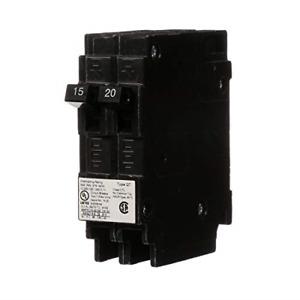 SIEMENS Parallax Power Components ITEQ1520 15/20A Duplex Circuit Breaker, 15/20